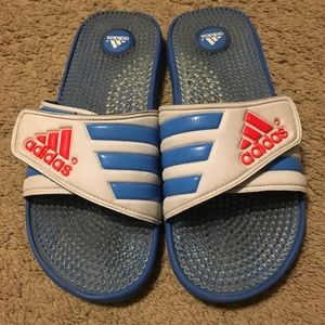 Adidas Slides - Women's Size 11/Men's Size 10